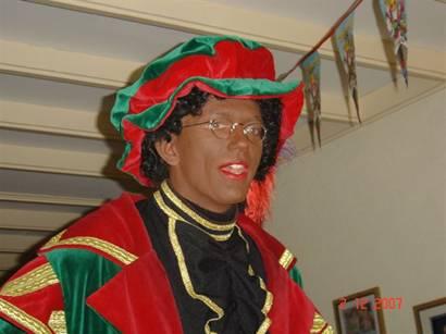 Sinterklaas show piet